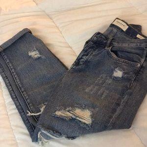 Size 24 boyfriend jeans from Pacsun